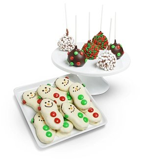 Holiday Cake Pops and Cookies
