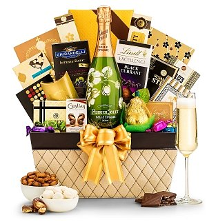 Champagne Baskets: Mother's Day Perrier-Jouet Luxury Champagne Collection