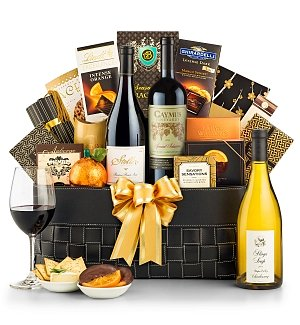 Luxury Wine Baskets: Caymus Special Selection
