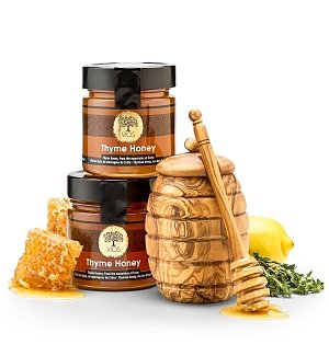 Fine Jams, Spreads, Honeys Gifts: Greek Honey Gift Set