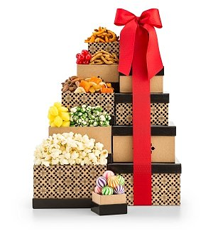 Gift Towers: Epicurean Snack Shoppe Tower