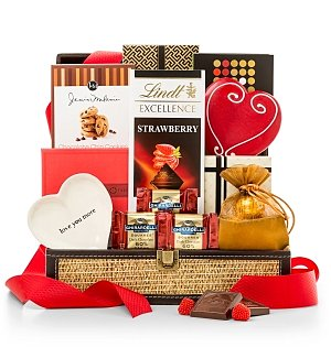 Chocolate & Sweet Baskets: Valentine's Day Sweetness Collection