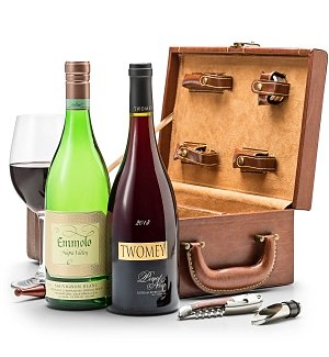 Wine Totes & Carriers: Pacific Valley Wine Duet with Fine Tools