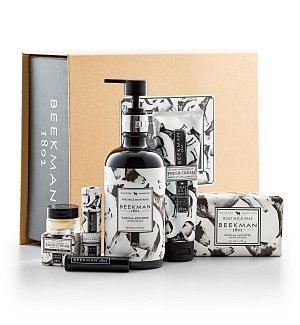 Spa Gift Baskets: Beekman 1802 Fresh Cream Vanilla Gift Set