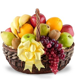 Heartfelt Sympathy Fruit Basket