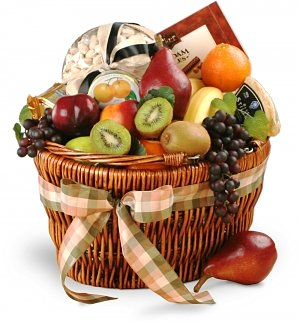 Holiday Abundance Gourmet Fruit Basket