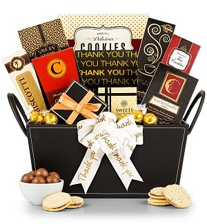Sincerest Thanks Gourmet Gift Basket