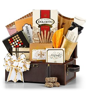 Holiday Treasures Gourmet Gift Chest