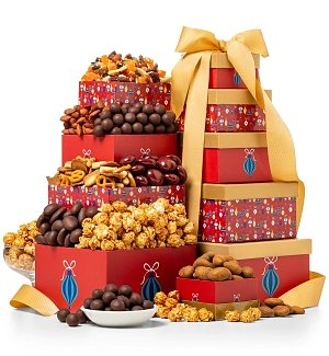 Gift Towers: Festive Favorites Gift Tower