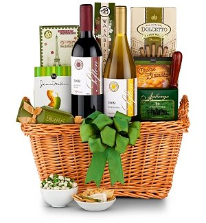 Rest and Relaxation Wine Basket