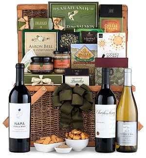 A Trip to Napa Wine Gift Basket