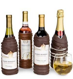 Chocolate-Dipped Wine
