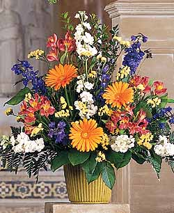 Funeral Flowers: Bright Messages