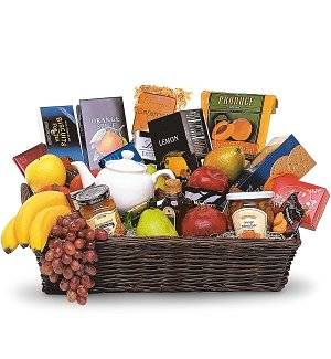 Grand Gourmet Fruit Basket