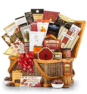 The Father's Day Grand Indulgence Gift Basket