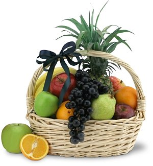 Just for You-A Basket of Fresh Fruit