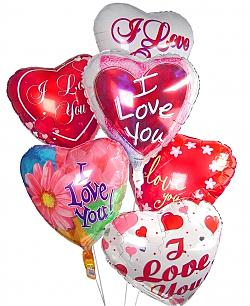 Romantic Balloon Bouquet-6 Mylar