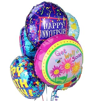 Balloon Bouquet-6 Mylar