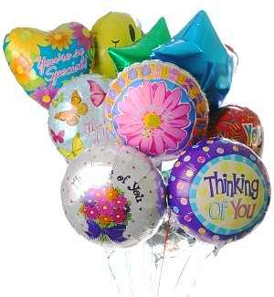 Grandparent's Day Balloon Bouquet-12 Mylar
