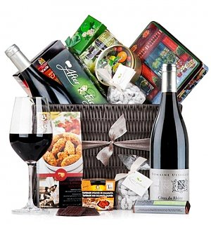 The Ultimate Gourmet Hamper - Wine Edition