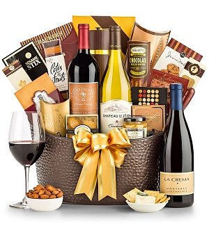California Signature Wine Gift Basket