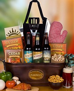 22 oz. Microbrew Beer Trio & Grilling Gift Set