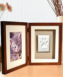 Cat PawPrint Desktop Frame