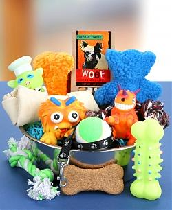 Good Dog Gift Basket