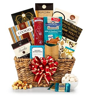 Deluxe Thank You Gift Basket
