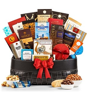 Best Wishes Gourmet Gift Basket