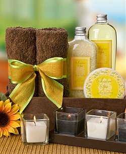 Sunflower Spa Kit