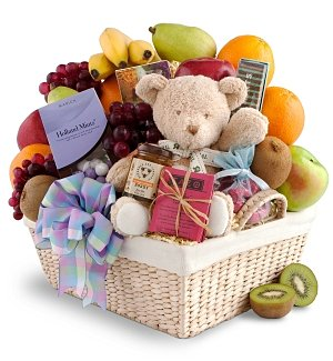 New Arrival Fruit & Gourmet Basket