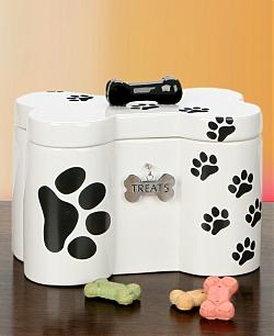 Dog Bone Treat Jar