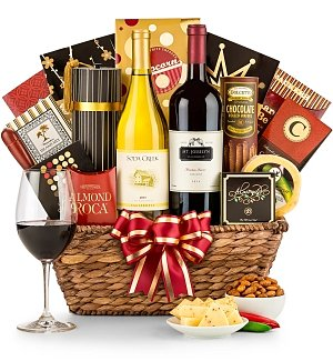 Toast to Dad Wine Basket