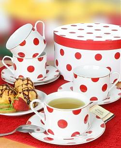 Polka Dot Teacups