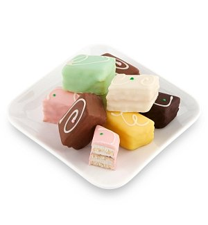 Sweeten Their Day Petit Four Cakes