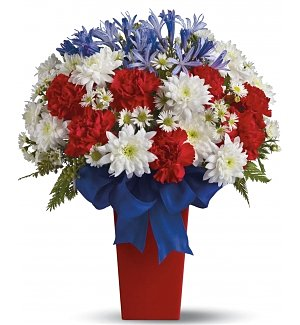 Patriotic Petals Bouquet
