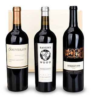 Signature Sonoma Wine Trio