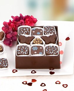 Edible Chocolate Box for Your Sweetheart