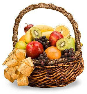 The Healthy Couple Anniversary Fruit Basket