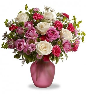 Think Pink Rose Bouquet