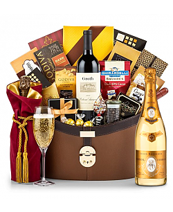 Cristal 2005 Ultimate Champagne Basket