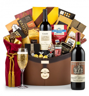 Champagne Baskets: Heitz Cellars Napa Valley Cabernet 2010 - The Windsor Luxury Wine Basket