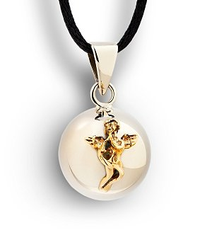 Chiming Angel Charm