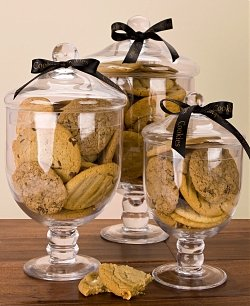 Apothecary Jar of Cookies