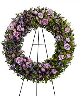 Flower Bouquets: Heavenly Wreath