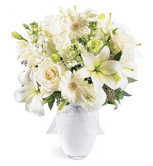 Purity of Heart Sympathy Bouquet