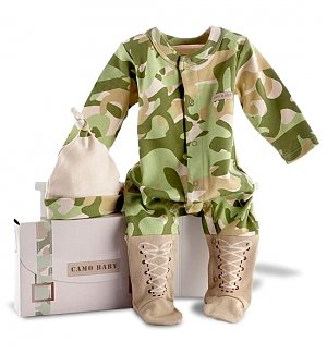 Baby Camo Layette Set