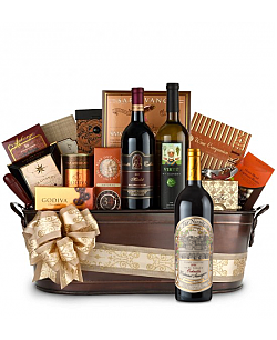 Far Niente Cabernet Sauvignon Wine Basket - Martha's Vineyard