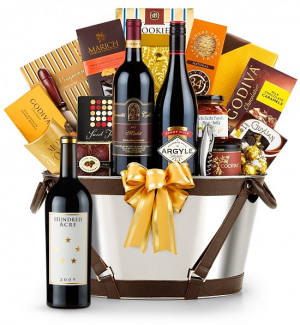 Hundred Acre Ark Vineyard Cabernet Sauvignon 2009- Martha's Vineyard Luxury Wine Basket